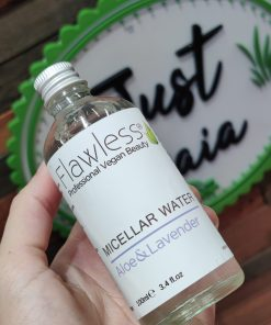 This gentle, yet cleansing zero waste micellar water is very effective at removing make up. Pick here at Just Gaia.