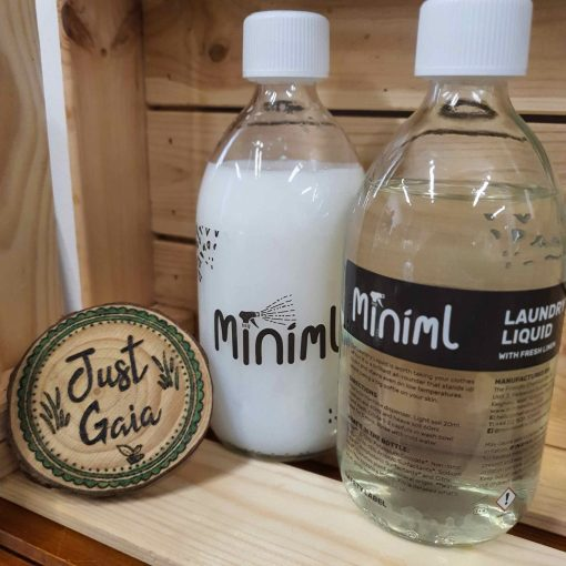 Laundry liquid Detergent and Fabric conditioner by Miniml inRELOAD Liquid Refills at Just Gaia