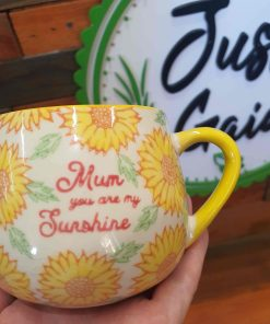 Mum you are my sunshine mug at Just Gaia Halifax from our gift ideas made by Sass & Belle