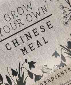 Grow your own Chinese meal