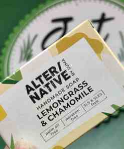 Lemongrass and chamomile soap by alternative