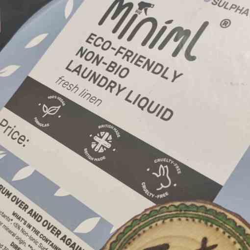 laundry liquid detergent refills
