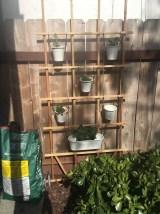vertical herb garden