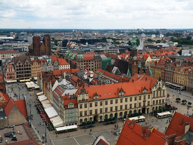 BNA > Wroclaw, Poland: $558 round-trip – Oct-Dec