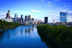BNA> Philadelphia, Pennsylvania: $96 round-trip