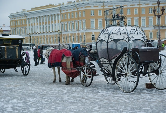 IND > Saint Petersburg, Russia: Flight & 15 nights: $750 – Feb-Apr (Including Spring Break)