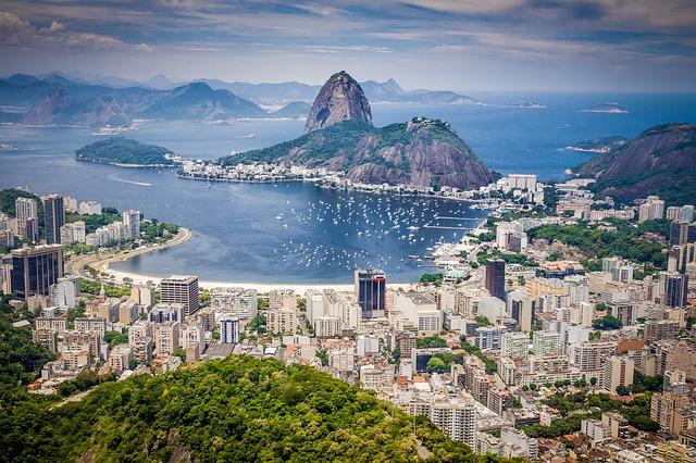 MSP > Rio de Janeiro, Brazil: $962 round-trip- Aug-Oct