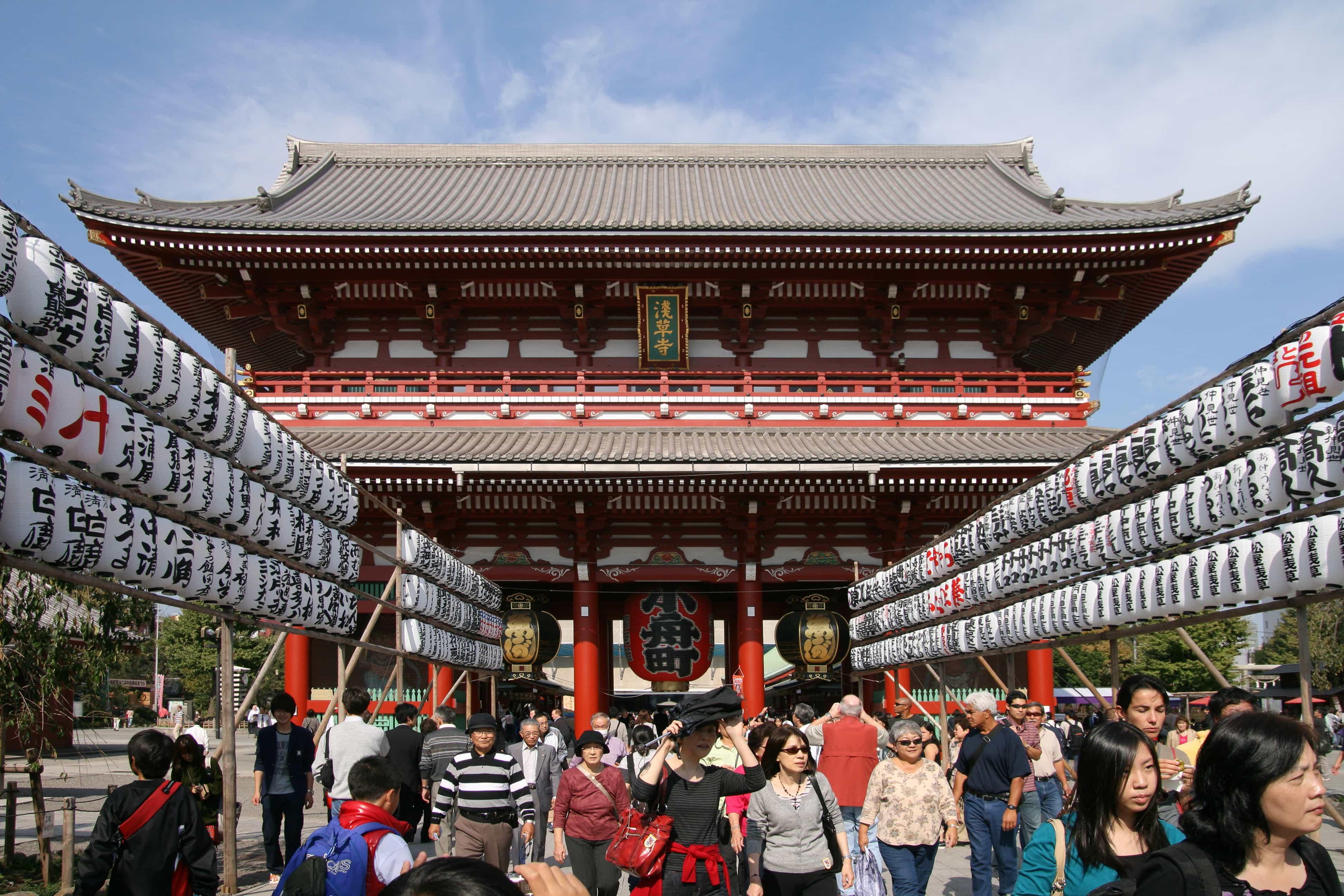 PHX > Tokyo, Japan: $761 round-trip – Oct-Dec