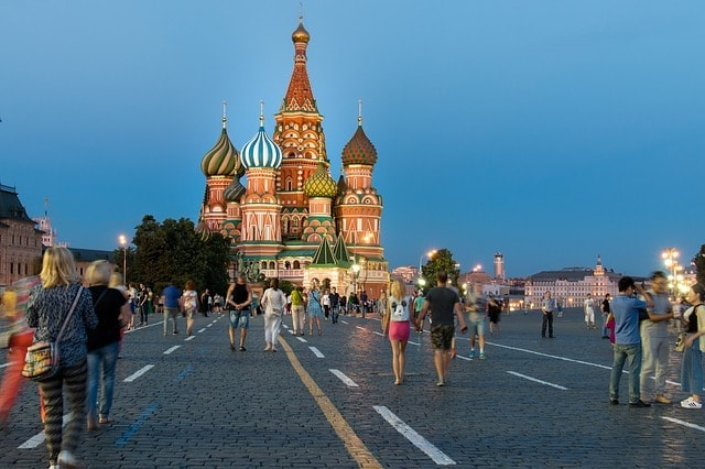 RDU > Moscow, Russia: $784 round-trip- Sep-Nov (Including Fall Break)