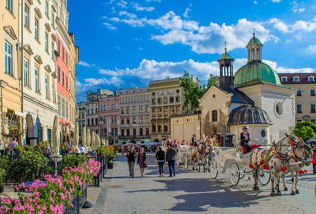 SJC > Krakow, Poland: Flight & 8 nights: $636- Jan-Mar