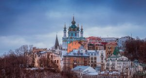 – Feb-Apr (Including Spring Break) OAK> Kiev, Ukraine: Flight & 13 nights: $1,129