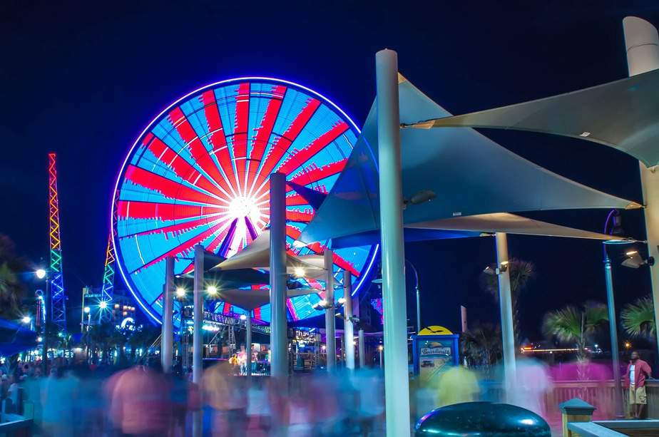 IND> Myrtle Beach, South Carolina: $135 round-trip- Jul-Sep