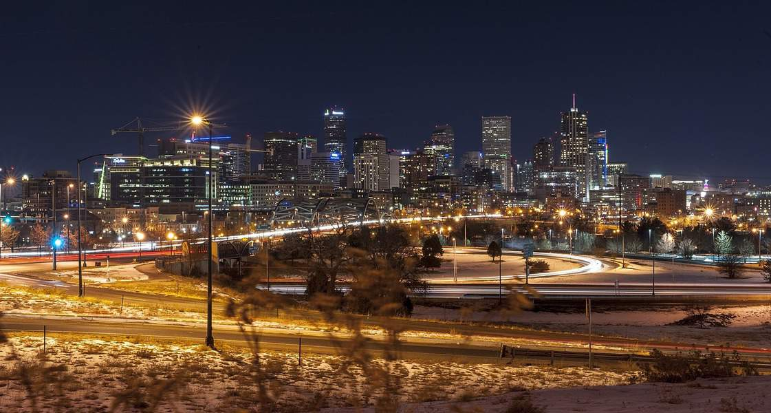 SFO> Denver, Colorado: $107 round-trip  – Oct-Dec