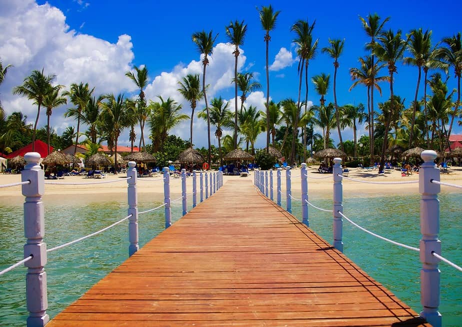 IND> Santo Domingo, Dominican Republic: $355 round-trip- Aug-Oct