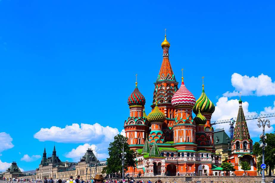 – Sep-Nov (Including Fall Break) RDU> Moscow, Russia: Flight & 14 nights: $832