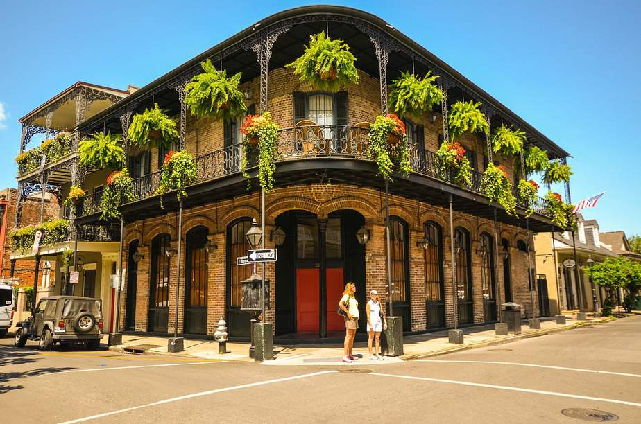 IND> New Orleans, Louisiana: $98 round-trip- Apr-Jun
