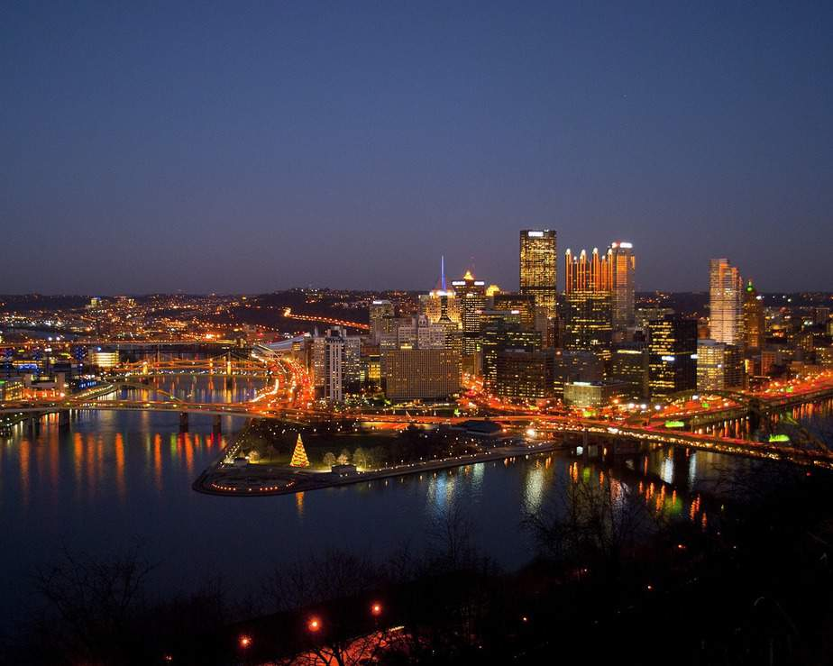 LAX> Pittsburgh, Pennsylvania: $103 round-trip