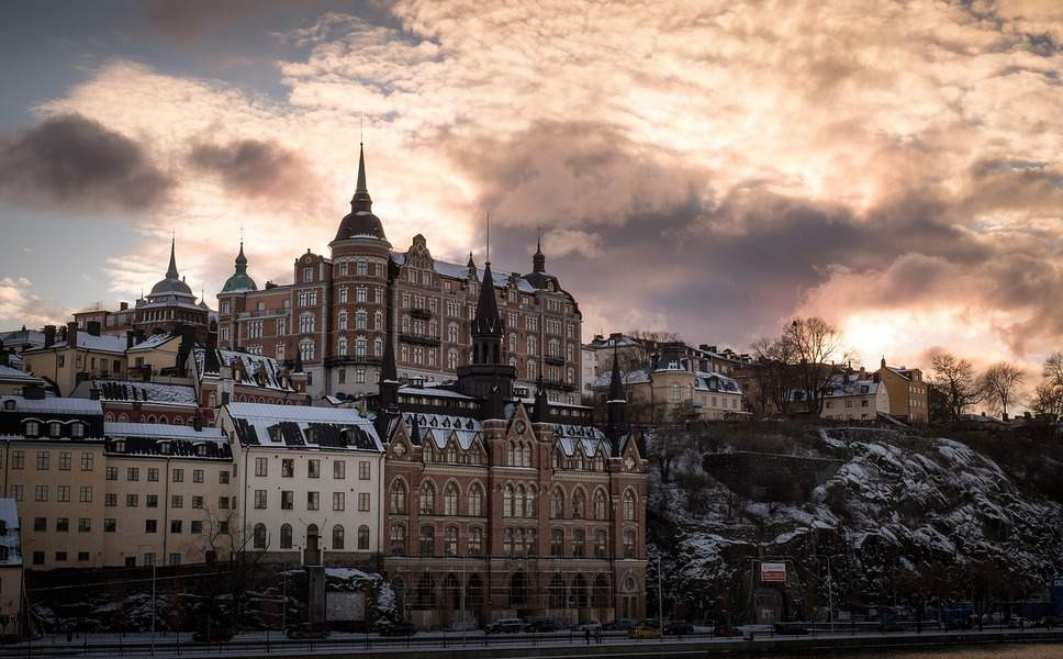 EWR> Stockholm, Sweden: Flight & 13 nights: $634 – Sep-Nov (Including Fall Break)