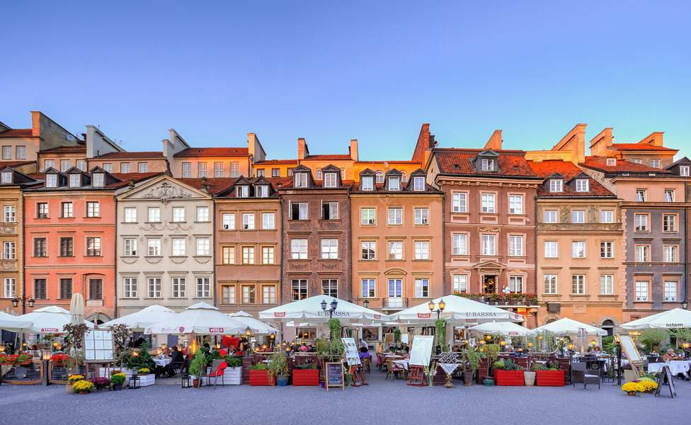 IND> Warsaw, Poland: Flight & 7 nights: $631- Aug-Oct