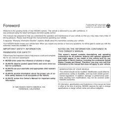 1996 nissan altima owner s manual [ 1088 x 1408 Pixel ]