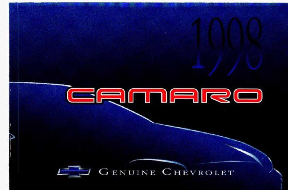 medium resolution of 1998 chevrolet camaro owner s manual