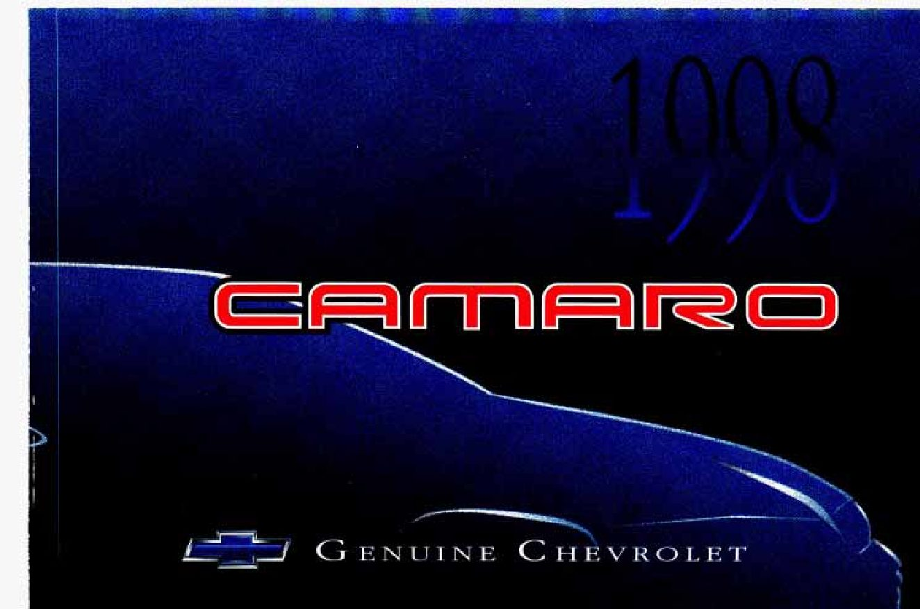 hight resolution of 1998 chevrolet camaro owner s manual