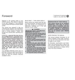 2000 nissan quest owner s manual [ 1088 x 1408 Pixel ]