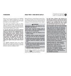 2003 nissan xterra owner s manual [ 1088 x 1408 Pixel ]