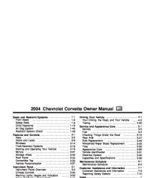 2004 chevrolet corvette owner s manual [ 1088 x 1408 Pixel ]