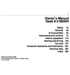2004 saab 9 3 owner s manual [ 1497 x 1058 Pixel ]