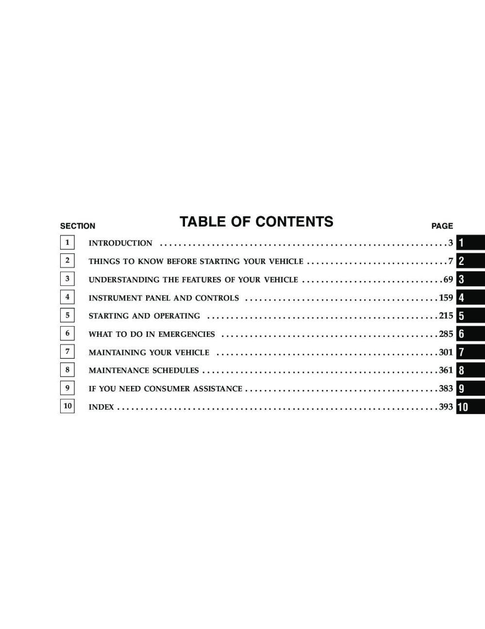 medium resolution of 2005 dodge durango owner s manual