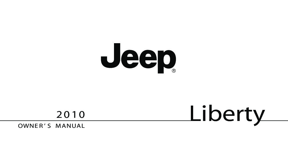 Bestseller: 2011 Jeep Liberty Owners Manual Pdf