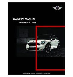 2011 mini countryman owner s manual [ 1058 x 1497 Pixel ]