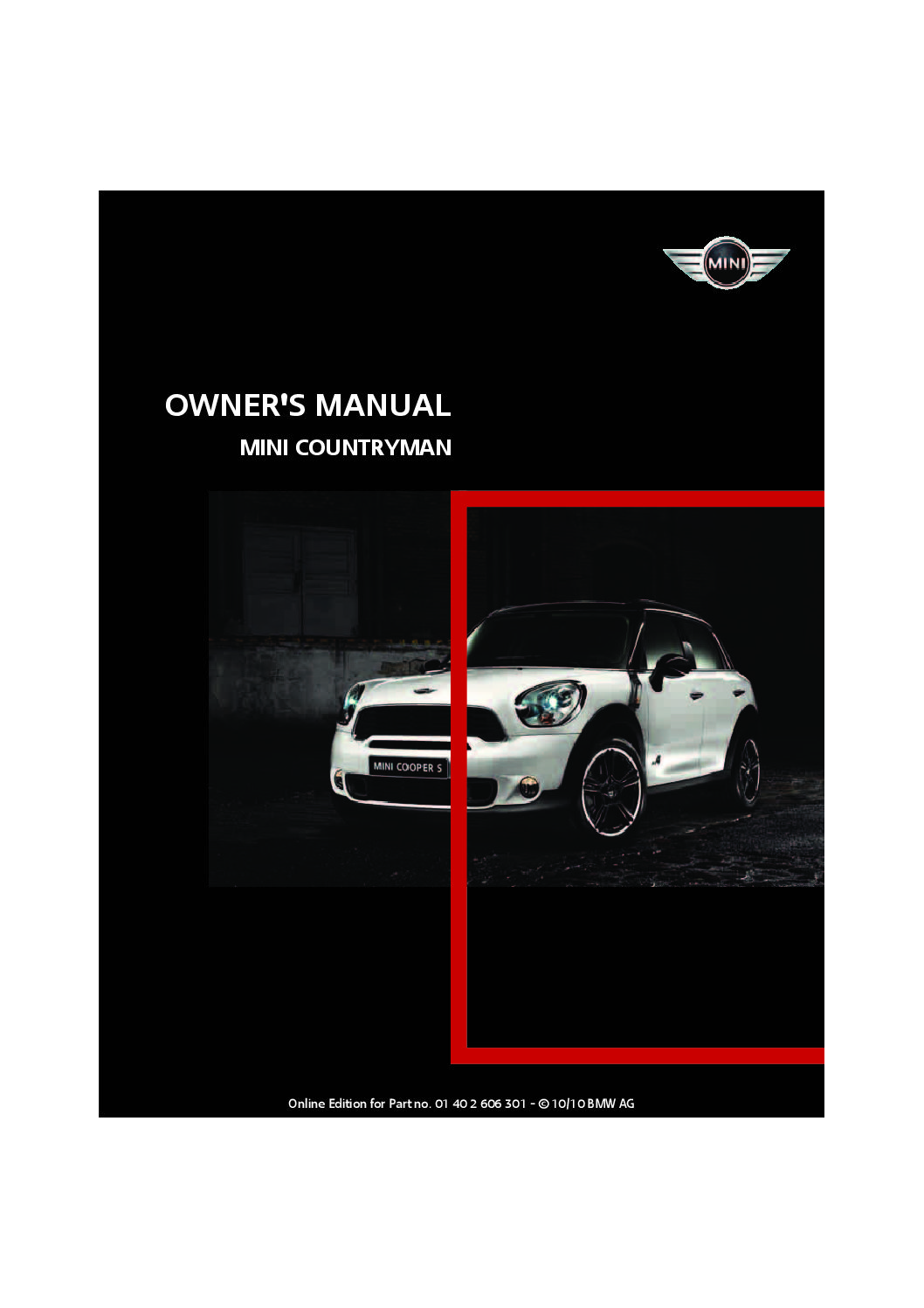 hight resolution of 2011 mini countryman owner s manual