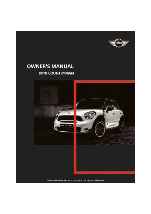 small resolution of 2011 mini countryman owner s manual
