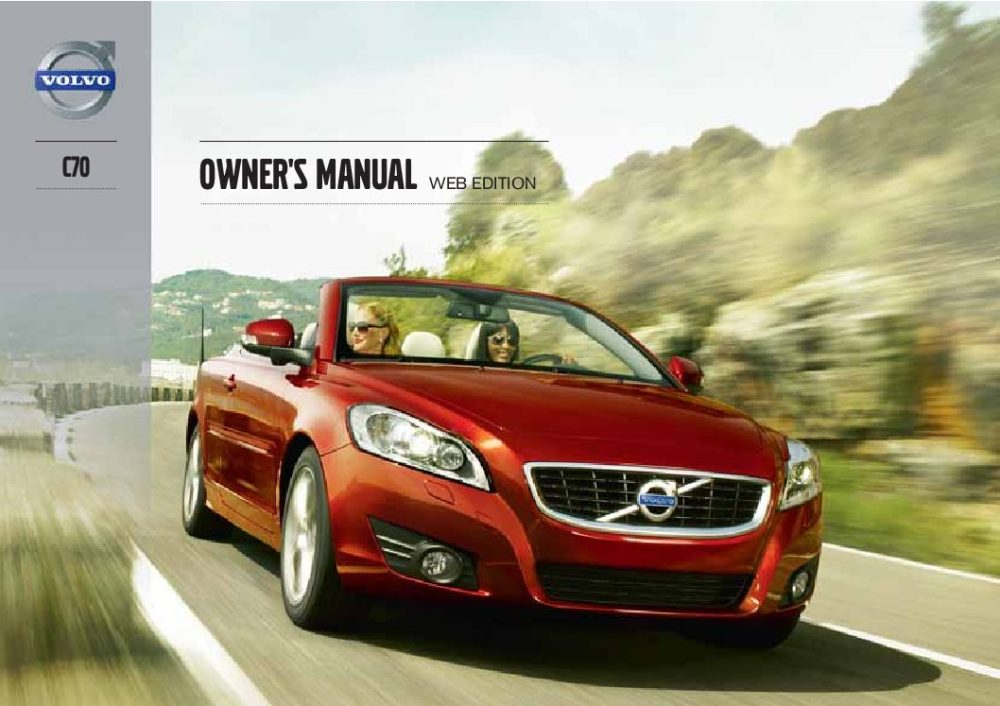 medium resolution of 2013 volvo c70 owner s manual
