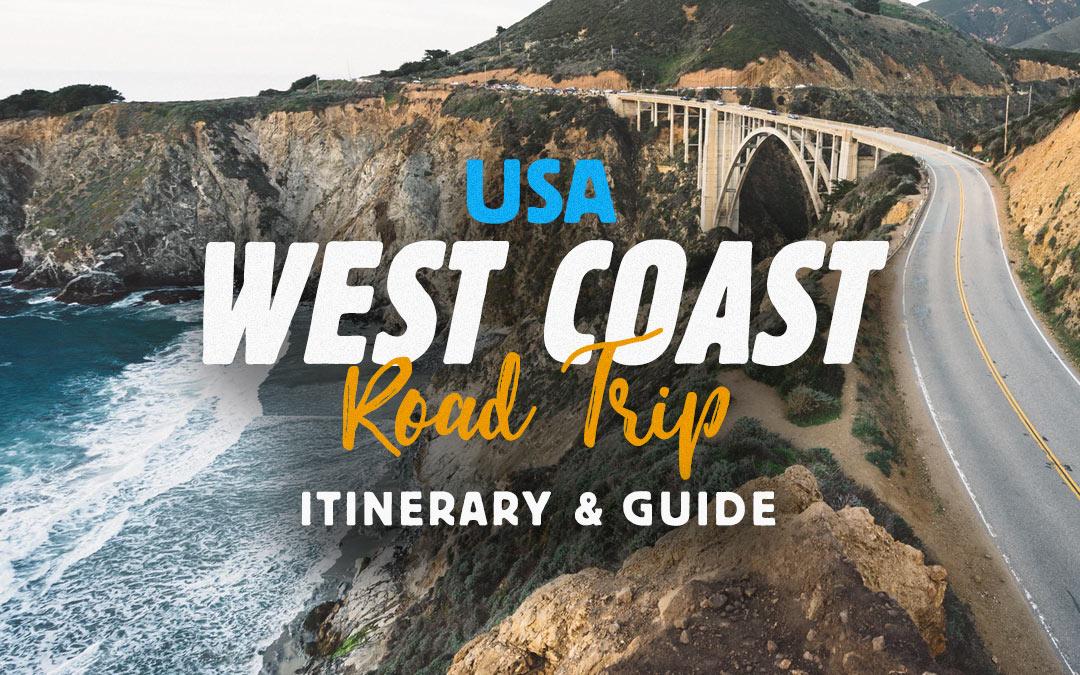 usa west coast road