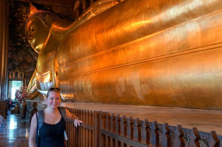Bangkok Thailand Wat Pho Phra Buddhasaiyas
