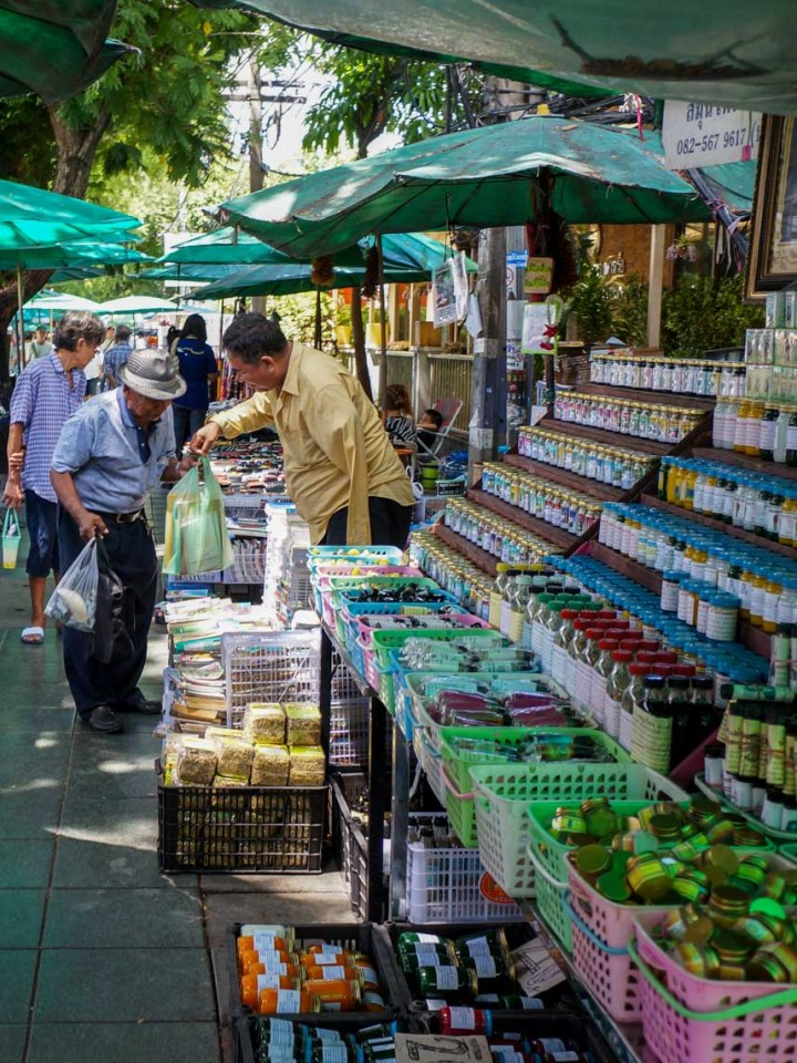 Bangkok Thailand markt