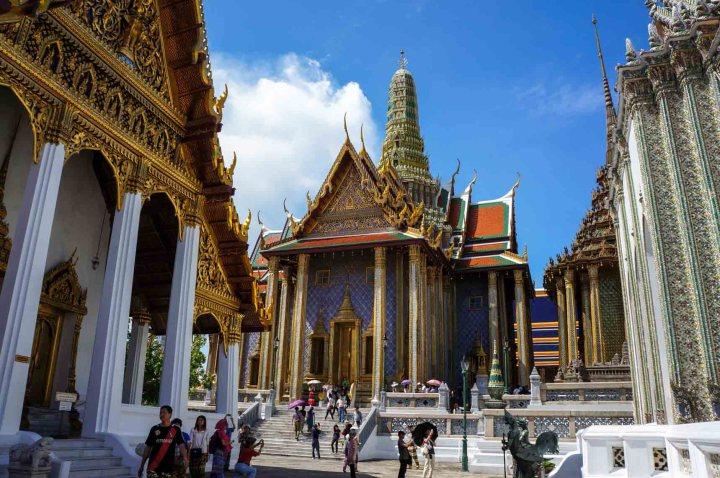 Bangkok Thailand paleis overzicht