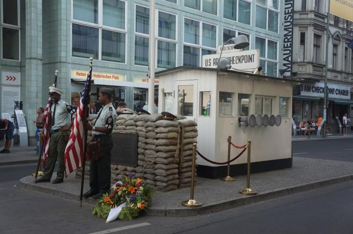 Berlijn Checkpoint Charlie