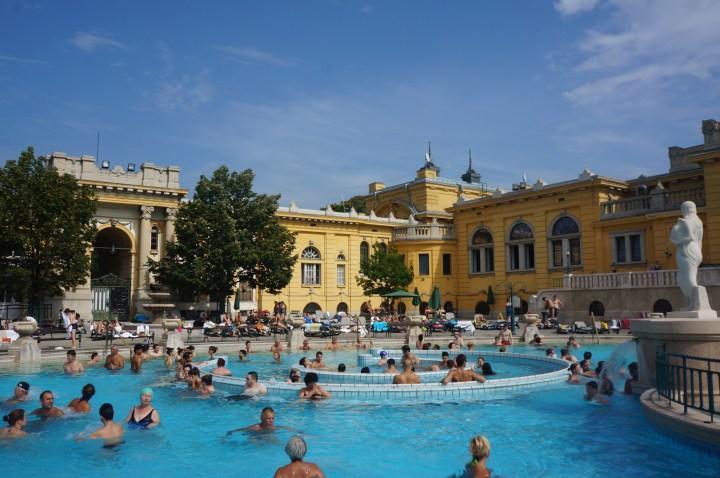 Széchenyi kuuroord Boedapest
