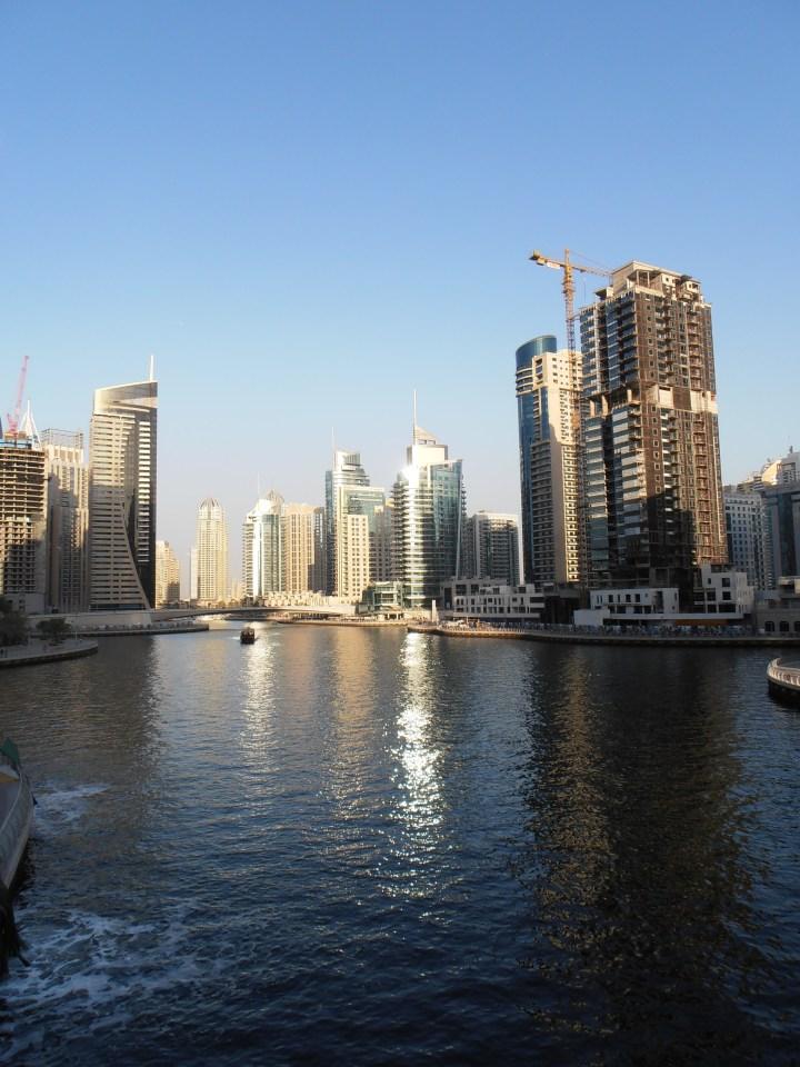 Dubai marina verenigde arabische emiraten