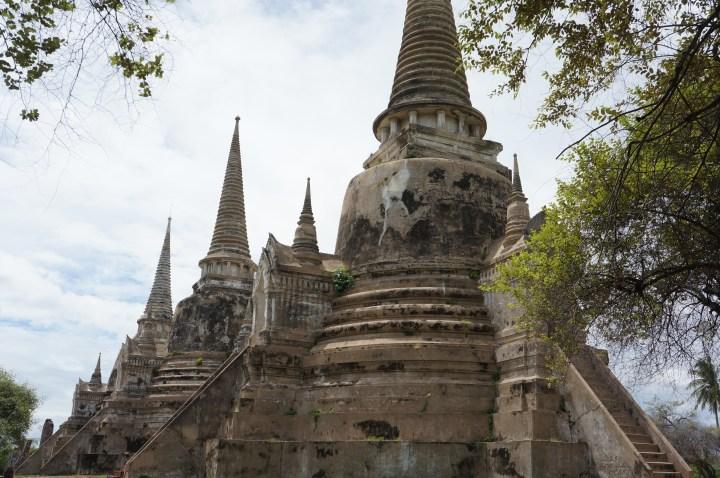 steden ayutthaya thailand