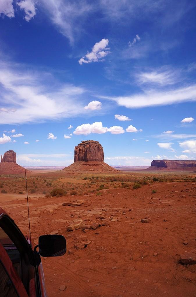 USA Roadtrip uitzicht
