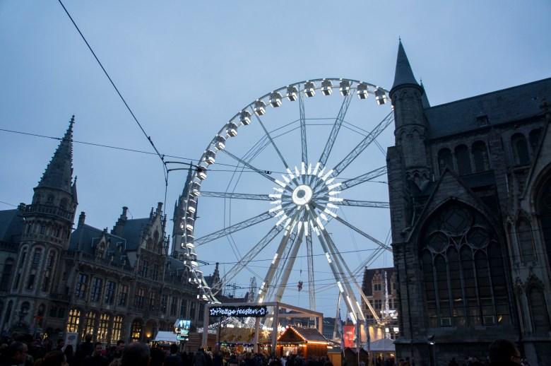 Kerstmarkt in Gent