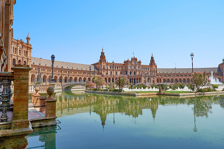 Sevilla Spanje Plaza de Espana