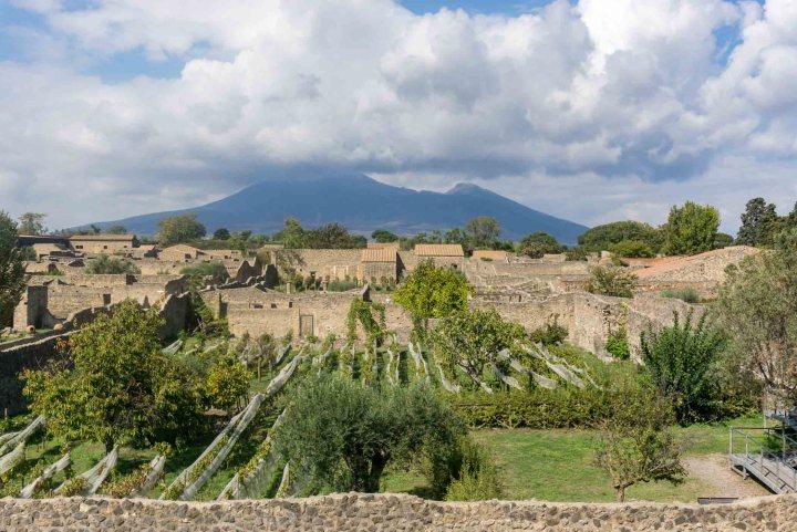 Pompeii Vesuvius vulkaan
