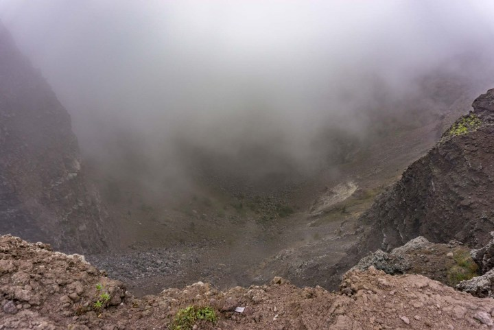 Vesuvius vulkaan krater