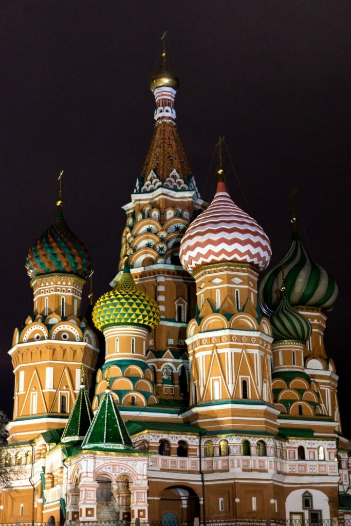 Rusland Moskou St Basil